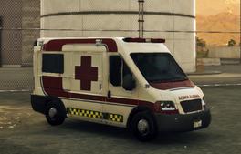 Prisa Calzada Ambulancia front left
