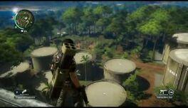 Just Cause 2- settlement completion- Pekan Hutan Buluh 05