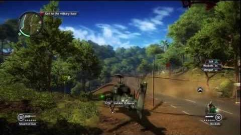 Just Cause 2 - Faction Mission - Death from Above