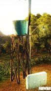 Kampung Negeri Sawah (small indestructable water tower)