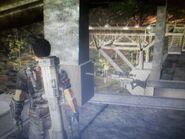 Sniper Rifle at Pulau Berapi