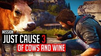 Just Cause 3 Mission Of Cows And Wine