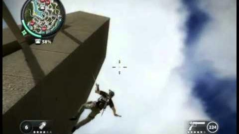 Just Cause 2 A small skydive
