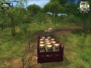 Field of Dreams (Vanderbildt Route 66 with barrels of pesticide)