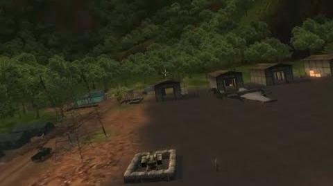 (HD) Encarnación, Military base - Just Cause 1