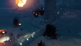 Abandon Ship (EMP blowing up attackers)