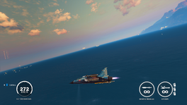 JC3 strange lights at sea north-west of Insula Striate