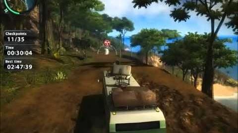 Just Cause 2 Race challenge The Forbidden Coast