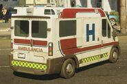 Calzada Ambulancia rear
