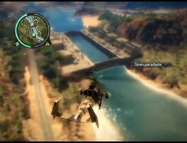 Just Cause 2 - Kem Rajang Floodgates - military base 05
