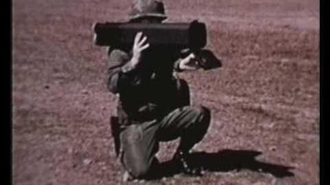 M202A1 66mm FLASH (Flame Assault Shoulder Weapon) Rocket Launcher