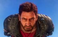 JC3 Rico Rodriguez (face close-up)