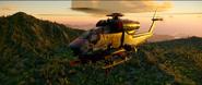 Firebrand Scout Chopper (closeup of beta with 3 miniguns)