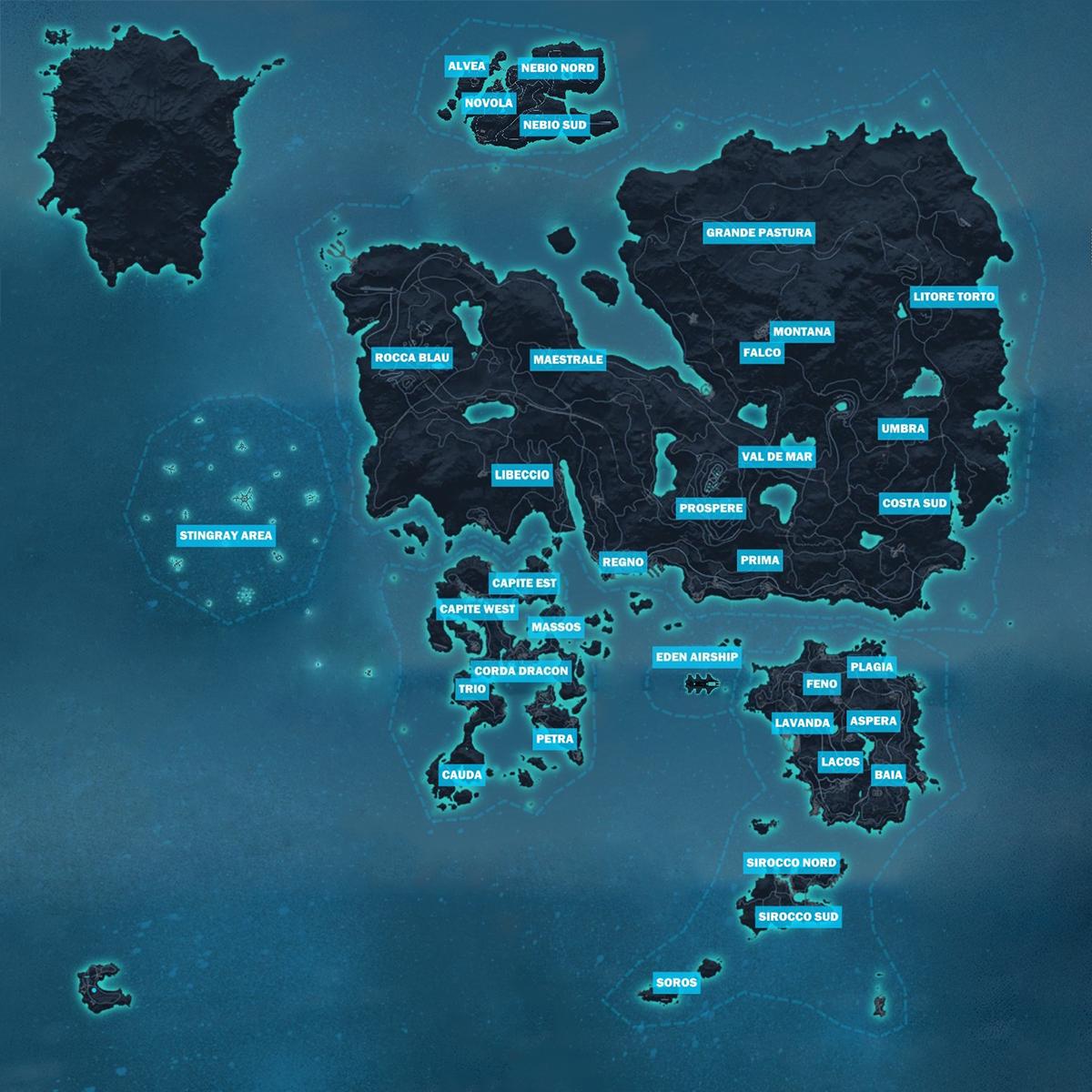 Mapa Just Cause 3.Medici Just Cause Wiki Fandom