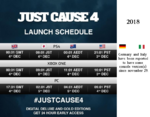 JC4 launch times