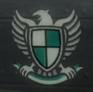 San Esperito military symbol