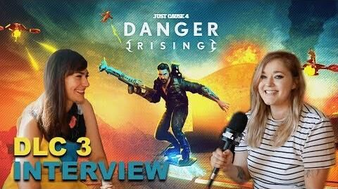 Danger Rising DLC3 Interview with Victoria Setian - Just Cause 4