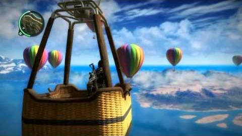 Just Cause 2 Hot Air Balloons