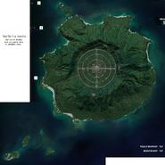Isla De Los Annilos zoomed map