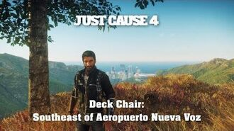 Just Cause 4 - Deck Chair Southeast of Aeropuerto Nueva Voz