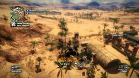 Just Cause 2- settlement completion- Sungai Remaja
