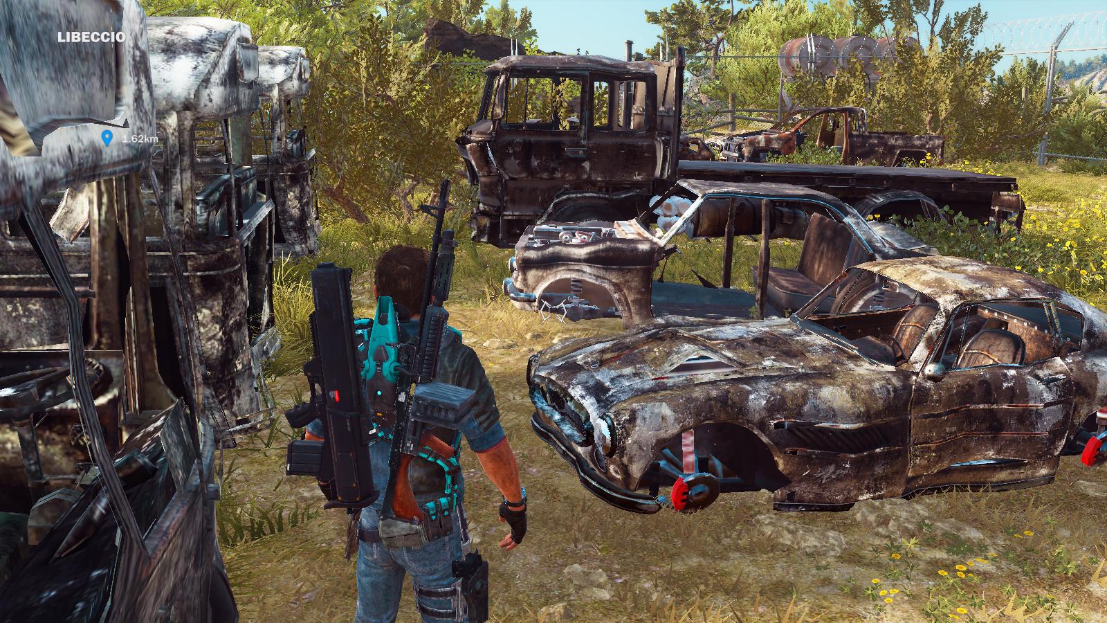 Image - JC3 destroyed vehicles at junkyard 3.png | Just Cause Wiki ...