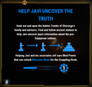 JC4 tip (help Javi uncover the truth)