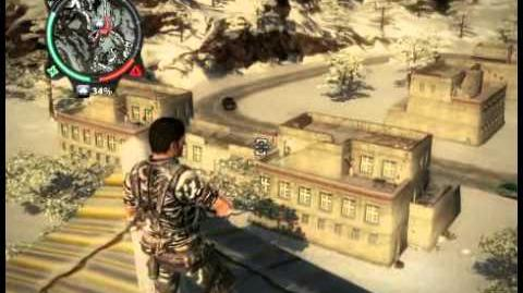 Just Cause 2 - Bandar Kayu Manis - civilian village