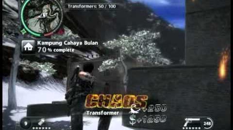 Just Cause 2 - Kampung Cahaya Bulan - civilian village