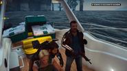Looch on a boat