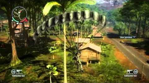 Just Cause 2- settlement completion- Kampung Kerang Hitam