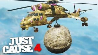 WRECKING BALL CHALLENGE! - Just Cause 4 Stunts & Challenges!