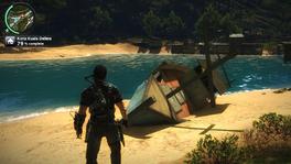 Small broken ship front (JC2)