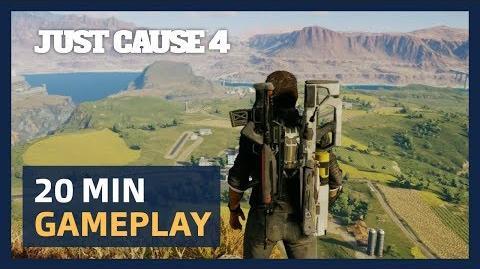 Just Cause 4 20 Minutes Live Gameplay Presentation ESRB