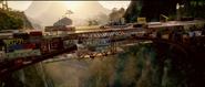 Bridge Settlement with Cars