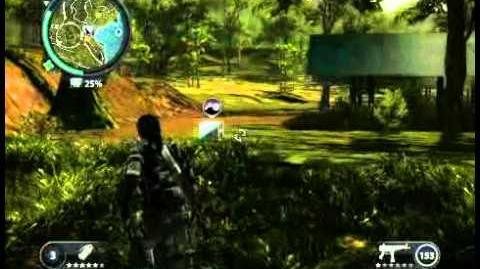 Just Cause 2 - Kampung Jelantur - civilian village