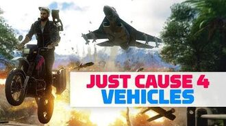 Every Vehicle in Just Cause 4-0