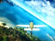 Glitch plane