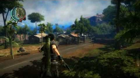 Just Cause 2- settlement completion- Kampung Pohon Reput