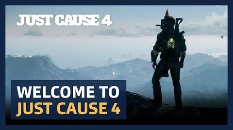 Welcome to Just Cause 4 PEGI