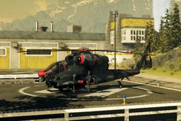 Firebrand Scout Chopper (left front corner, landed)