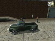 Hurst Buckaroo, Guerrilla version, (patrol), side view.