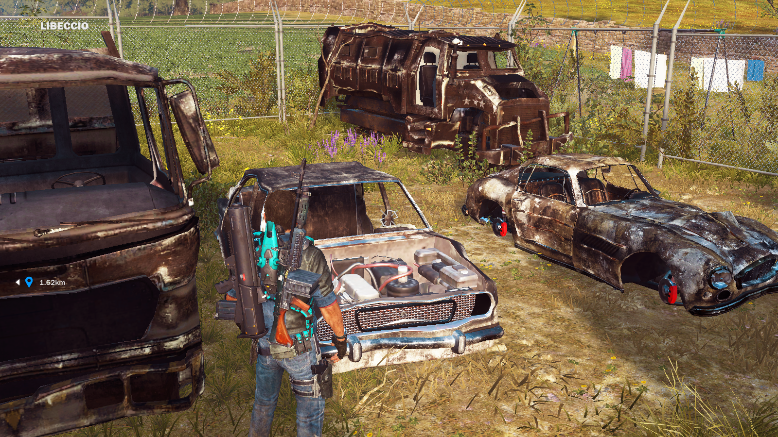 Vehicle wrecks | Just Cause Wiki | FANDOM powered by Wikia