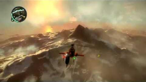 Just Cause 2 Disappearing Volcanoes
