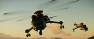 Skycrane Type Helicopter