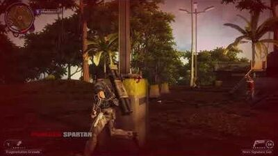 Tanah Raya Timur Gamma East Tanah Raya Just Cause 2 Communication Outpost 100% Completion-0