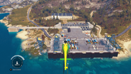 Weapons Shipment Yard
