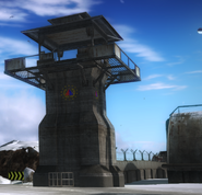 Concrete guard tower (JC2)