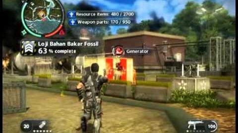 Just Cause 2 - Loji Bahan Bakar Fossil - military base