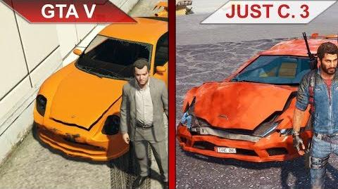 GTA V vs. Just Cause 3